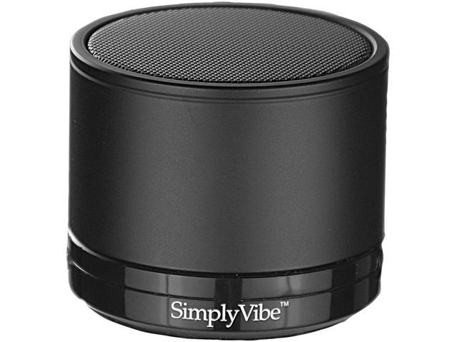SimplyVibe V3-5CPB Bluetooth Mini Portable Speaker with Rechargeable Battery