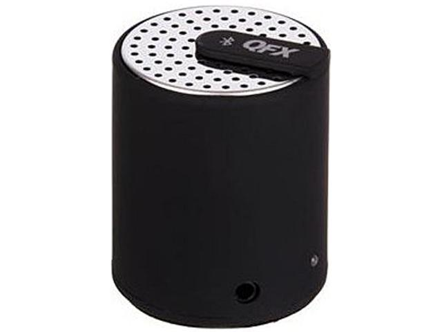 QFX CS-27BLK Portable bluetooth speaker with aux-in