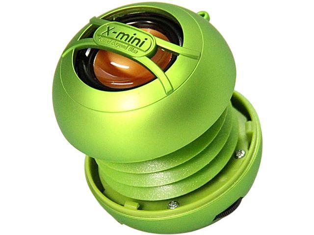 X-Mini UNO XAM14-GR Portable Capsule Speaker, Mono, Green