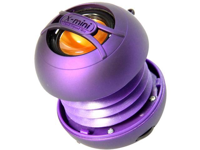 X-Mini UNO XAM14-PU Portable Capsule Speaker, Mono, Purple