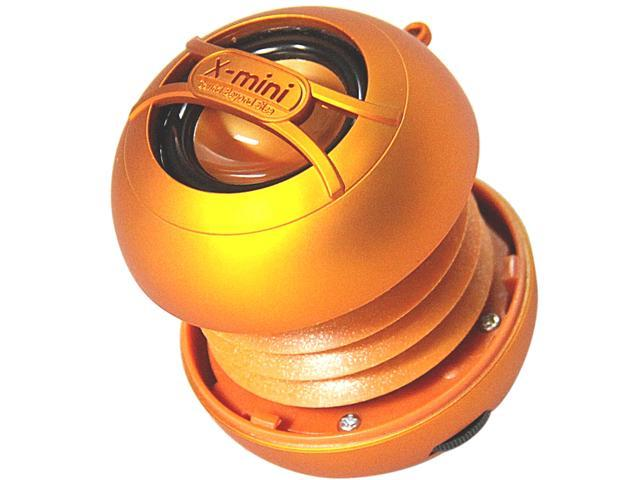 X-Mini UNO XAM14-OR Portable Capsule Speaker, Mono, Orange