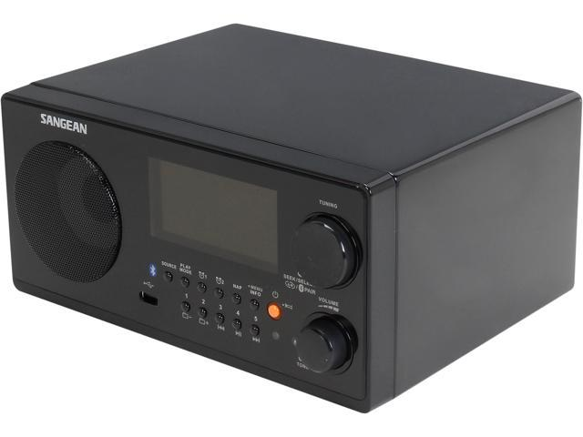 SANGEAN FM-RBDS / AM / USB / Bluetooth Digital Receiver WR-22BK