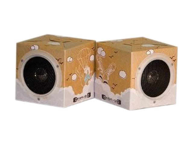 OrigAudio FNPDAYDREAM Fold In Play Recycled Speakers