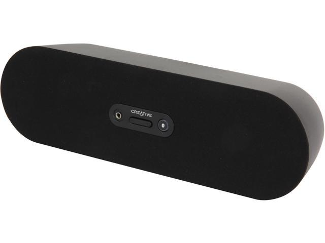 Creative D80 Wireless Bluetooth Speaker, Black