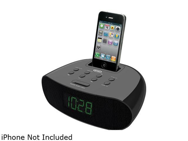JENSEN Docking Digital Clock Radio for iPod & iPhone JiMS-70i
