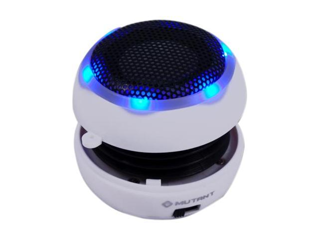 MUTANT MIG-PS1-3 Media Yo-Yo Speaker White Portable Self-Powered Speaker