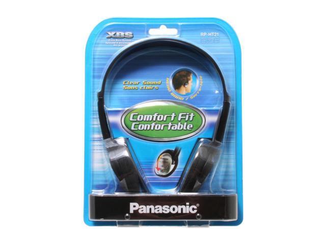 Panasonic Lightweight headphones with XBS RP-HT21