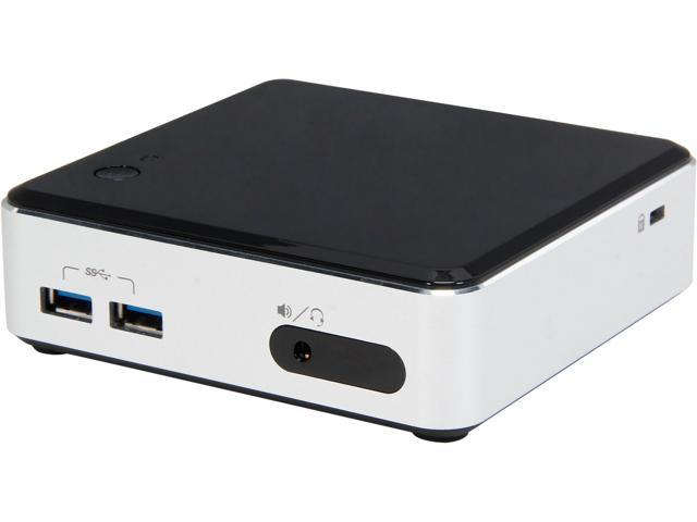 Intel NUC BOXD34010WYK 2 x 204Pin SO-DIMM Intel HD Graphics 4400 Integrated by CPU Mini / Booksize Barebone System