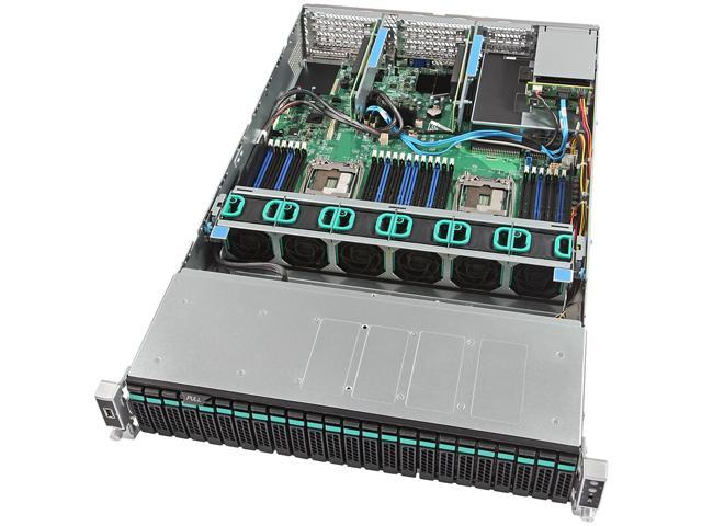 Intel Server System R2224WTTYS Barebone System - 2U Rack-mountable - Socket R3 (LGA2011-3) - 2 x Processor Support