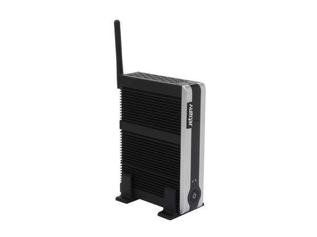 Jetway HBJC362F36W-2600-B Intel NM10 1 x 204Pin SO-DIMM Intel GMA 3600 Black Mini / Booksize Barebone System