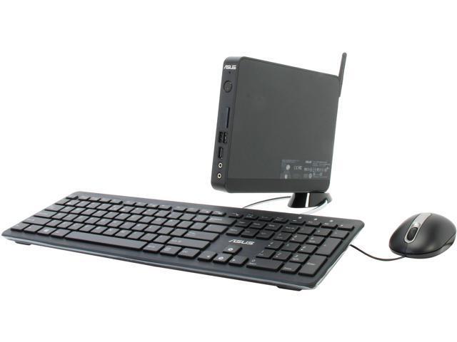 ASUS EB1007P-B0040 Intel NM10 2 x 204Pin SO-DIMM Intel GMA Graphics Black Mini / Booksize Barebone System