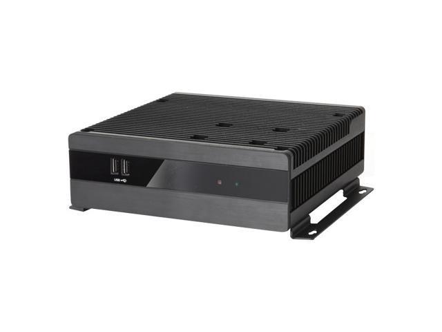 AOpen Digital Engine DEX7150 Barebone System Ultra Small - Intel QM77 Express Chipset - Socket G2 - 1 x Processor Support - Black