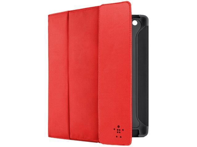 Belkin Ruby Blacktop Case Folio Poly IPAD3G Storage F8N747TTC01