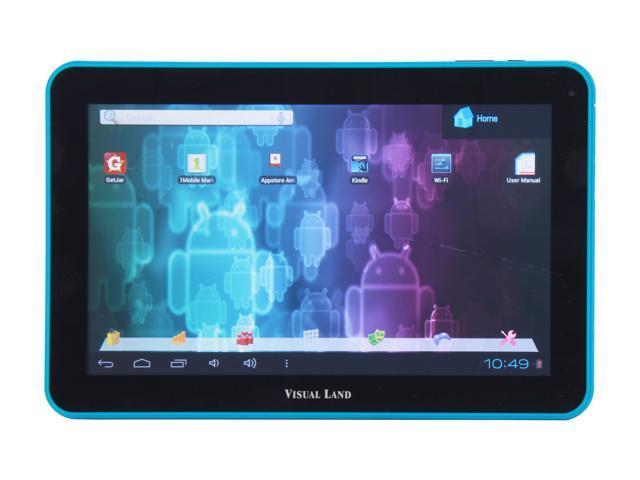 Visual Land ME-110-16GB-BLU Allwinner Cortex A8 16GB 10.0