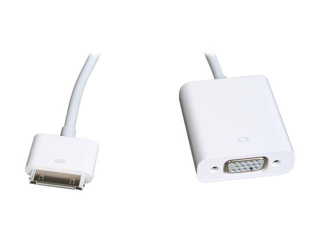 Apple - iPad Dock Connector to VGA Adapter (OEM) (MC552ZM/B)