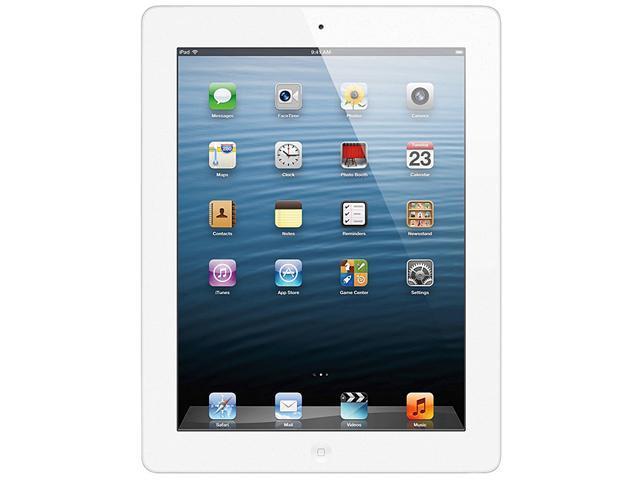 Apple iPad with Retina Display 4th Gen (64 GB) – White – Model# M515LL/A