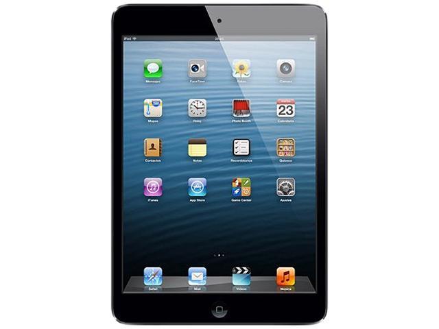 Apple iPad Mini (16 GB) with Wi-Fi – Black & Slate – Model #MD528E/A