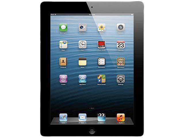Apple MD524LL/A iPad 4 Tablet 64GB WiFi + 4G Verizon (Black)