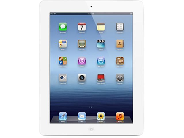 Refurbished iPad with Wi-Fi + Cellular 32GB - White - AT&T (3rd generation)