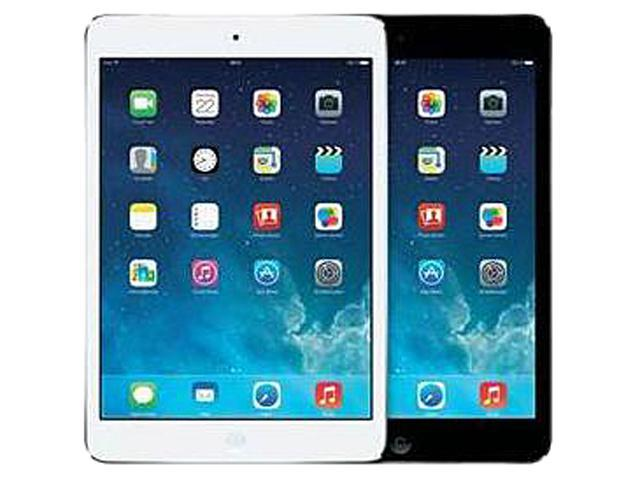 APPLE FACTORY RECERTIFIED IPAD MINI-2 128GB WIFI TABLET SILVER BROWN-BOX/1 YEAR THIRD PARTY WARRANTY