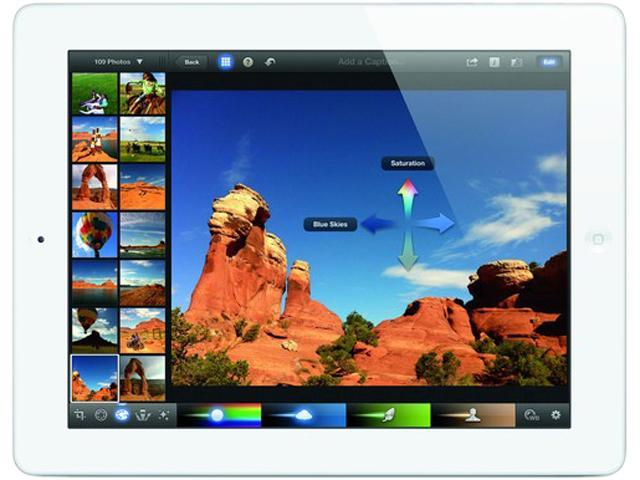 REFURBISHED Apple MD328LL/A iPad 3 Tablet 16GB w/WiFi-White 90 day warranty GRADE B