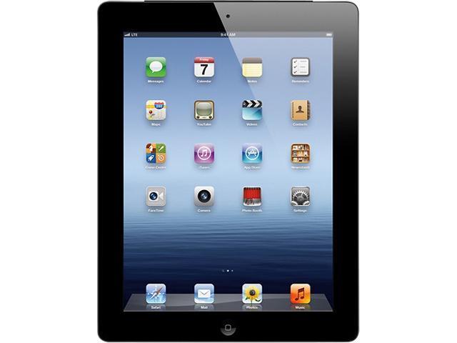 REFURBISHED Apple MC756LL/A iPad 3 Tablet 64GB w/WiFi+4G Verizon-Black 90 day warranty GRADE B