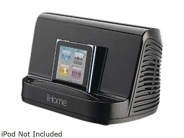 ihomeaudio IHM16B Portable MP3 Stereo Speaker Black