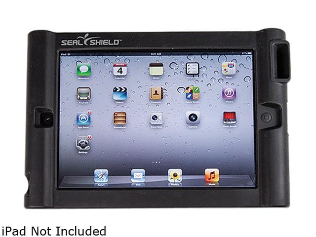 Seal Shield SBUMPERI3 Silicone Bumper Protective Case for iPad Black