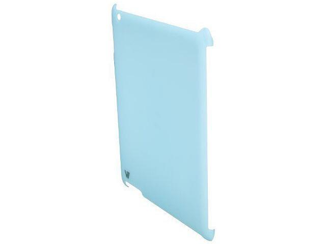 V7 TA15BLU-CF-9N-KIT Kit-blue Ultra Slim Back Cover Case and Protective Film for iPad2