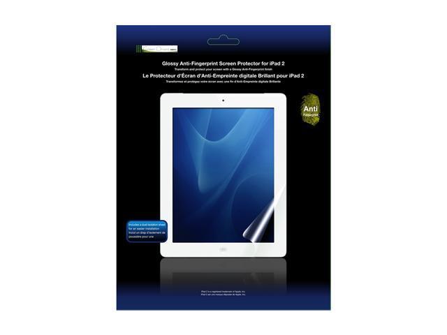 Glossy Anti-Fingerprint Screen Protector for iPad