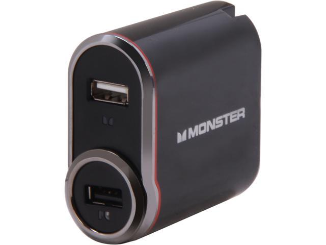 Monster Cable 133251 Outlets To Go USB PowerPack - Hybrid Charger Black