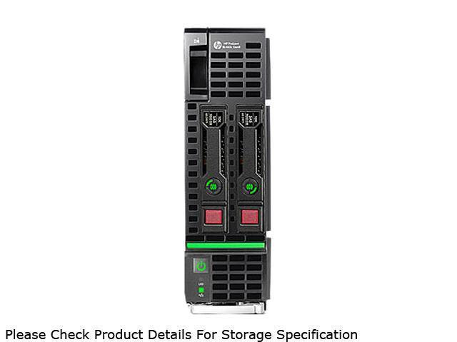 HP ProLiant BL460c Gen8 Blade Server System 2 x Intel Xeon E5-2650 2.0GHz 8C/16T 64GB (8 x 8GB) No Hard Drive 670656-S01