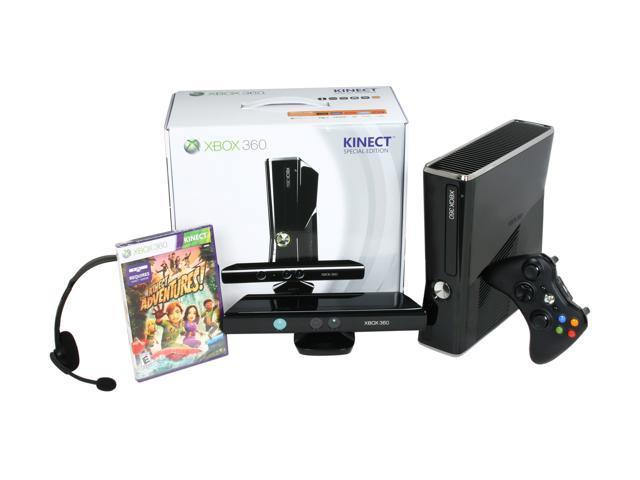 Microsoft XBOX 360 250GB Kinect Bundle