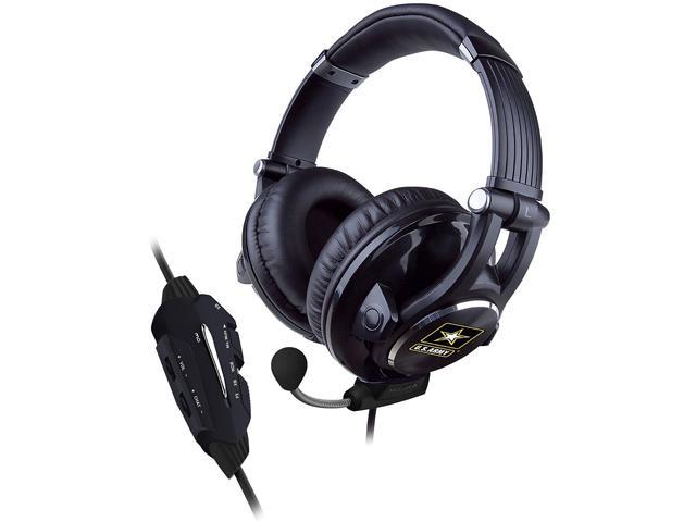 CTA Digital U.S. Army Universal Gaming Headset With 3D Effect for PS3/XBOX/PC