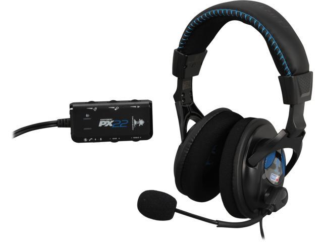 Turtle Beach PX22 (TBS-3230-01) amplified universal gaming headset for PS3, Xbox 360 and PC