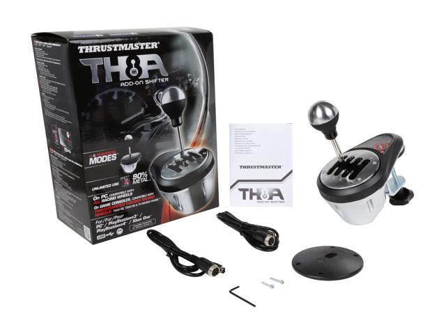 thrustmaster vg th8a add on gearbox shifter for pc ps3. Black Bedroom Furniture Sets. Home Design Ideas