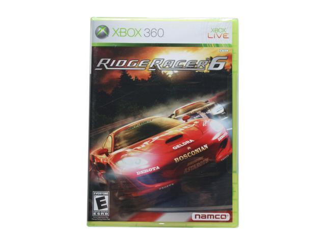 Ridge racer 6 Xbox 360 Game