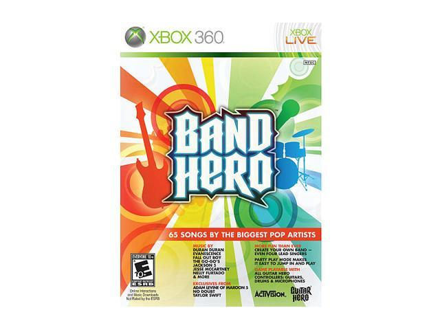 Band Hero (Software Only) Xbox 360 Game
