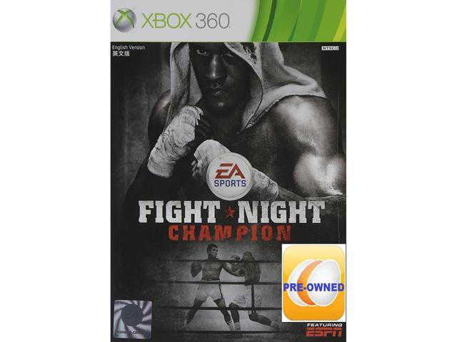 Pre-owned Fight Night Champion Xbox 360