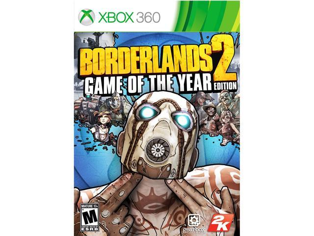 Borderlands 2: Game of the Year Edition Xbox 360 Game