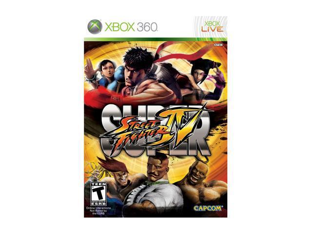 Super Street Fighter IV Xbox 360 Game
