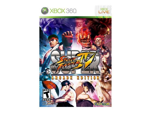 Super Street Fighter IV Arcade Edition Xbox 360 Game