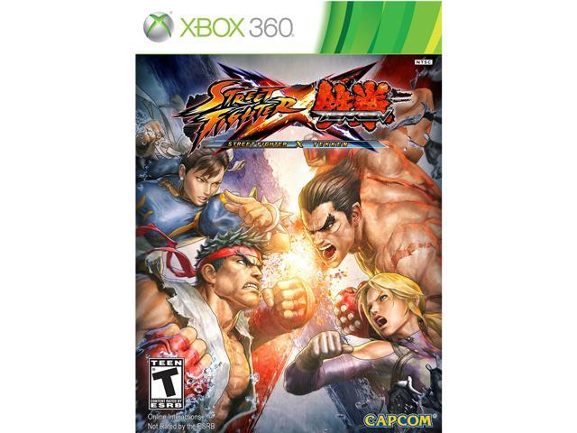 Street Fighter X Tekken Xbox 360 Game