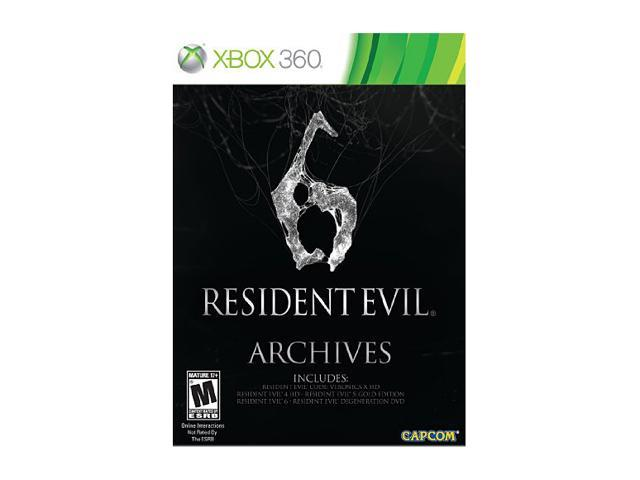 Resident Evil 6 Archives Edition Xbox 360 Game