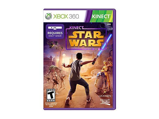 Lucas Arts Star Wars Xbox Kinect Game