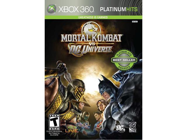 Mortal Kombat Vs. DC Universe Xbox 360 Game