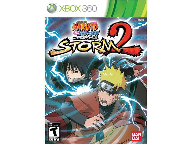 Naruto Ultimate Ninja Storm 2 Xbox 360 Game