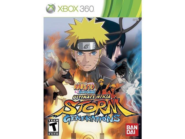 Naruto Shippuden: Ultimate Ninja Storm Generations Xbox 360 Game