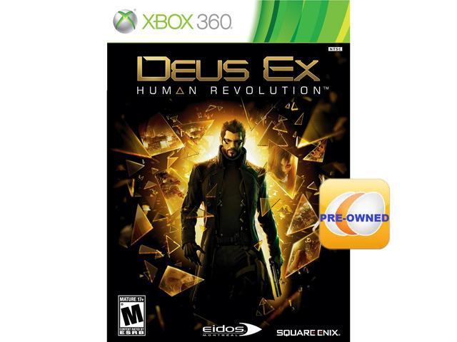 PRE-OWNED Deus Ex: Human Revolution Xbox 360