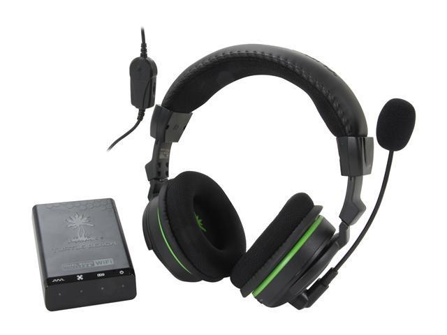 Turtle Beach Ear Force X42 Wireless Dolby Surround Sound Xbox 360 Headset